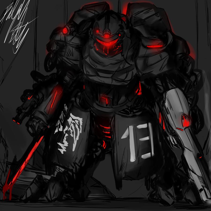 Concept: EXO Suit by PeterPrime