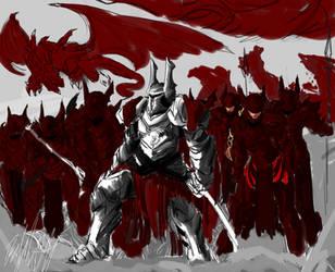 Illust: Dragon Cavalry Elite by PeterPrime