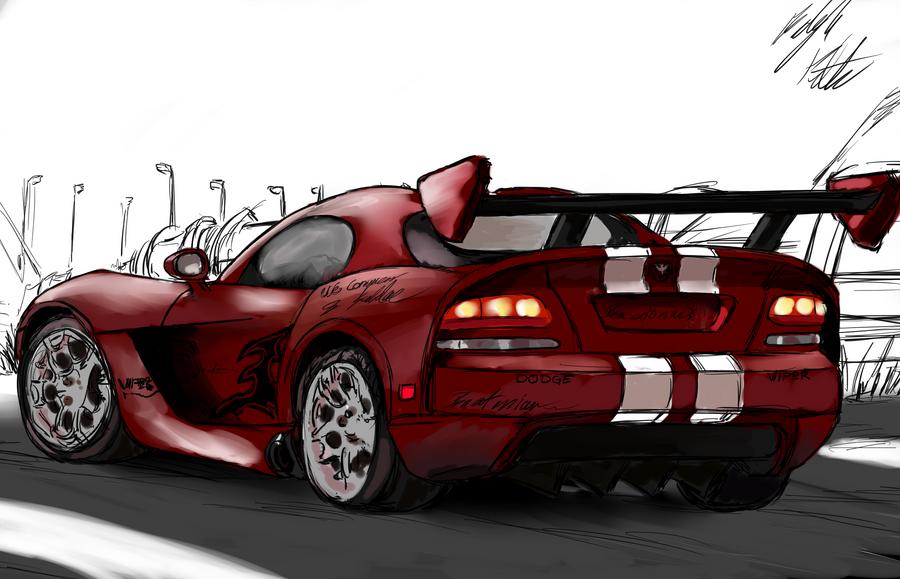 Dodge Viper by PeterPrime
