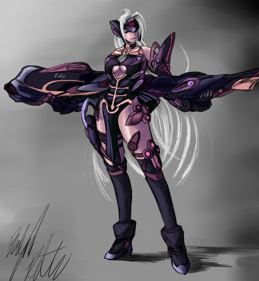 Xenosaga: T-elos by PeterPrime