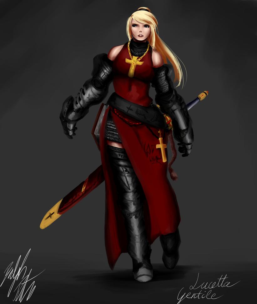 Lucetta - Dark Crusader by PeterPrime