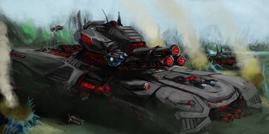 Dreadnaught by PeterPrime