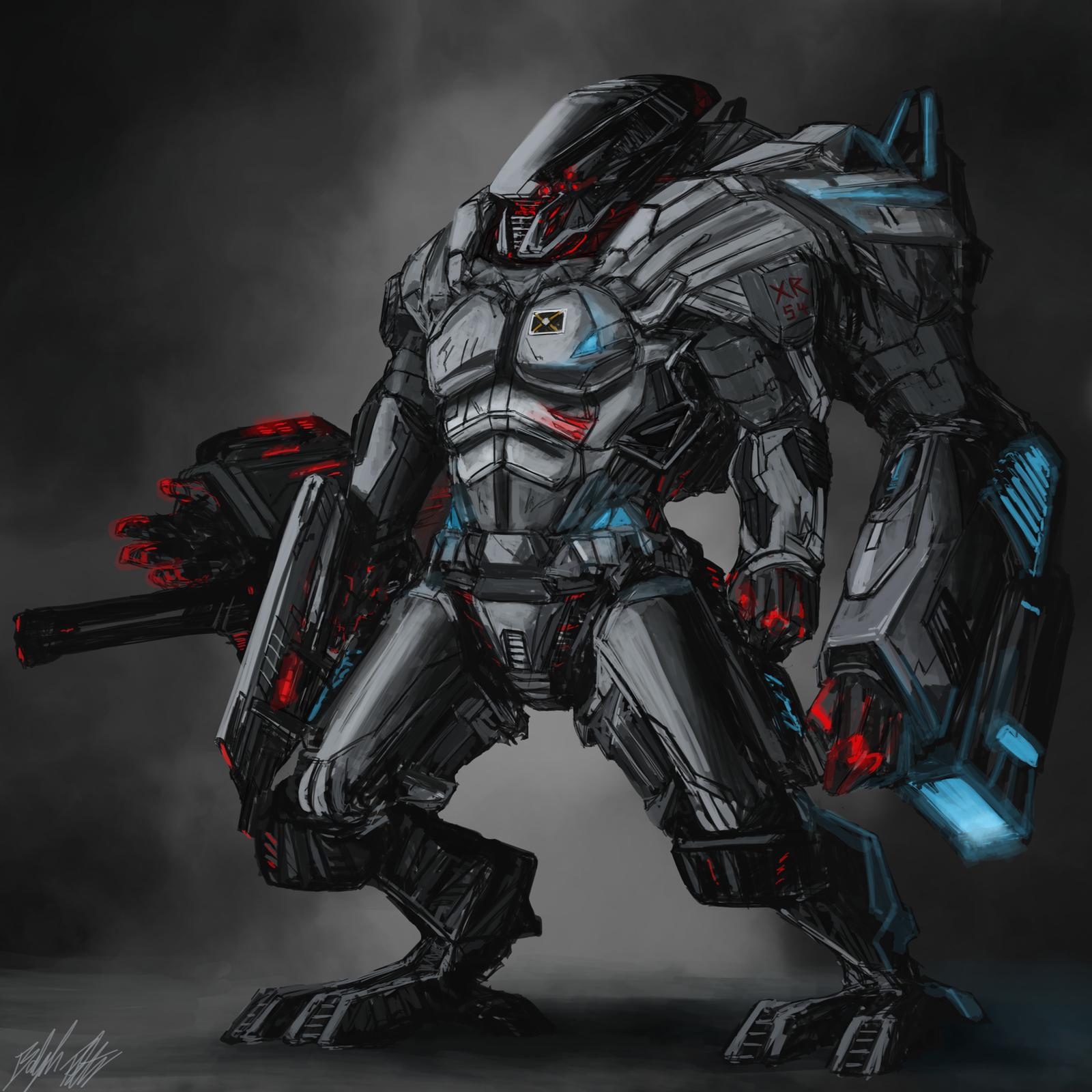 XR-54 Redeemer by PeterPrime