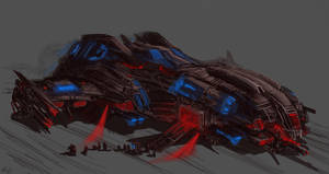 WIP: Terminator Assault Dropship by PeterPrime