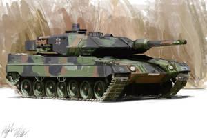 Tank study by PeterPrime