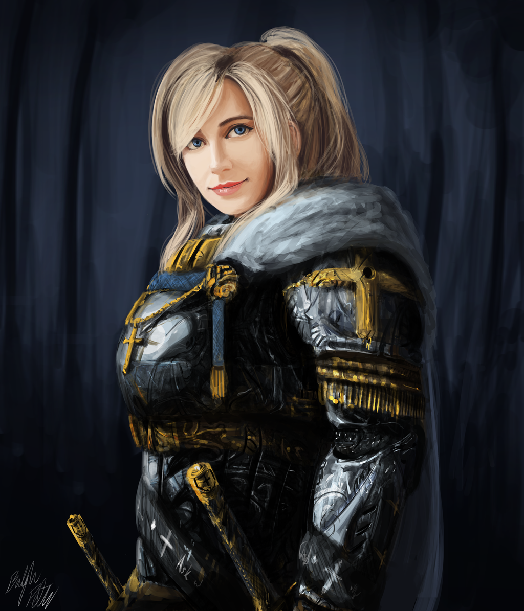 Gentle Paladin by PeterPrime