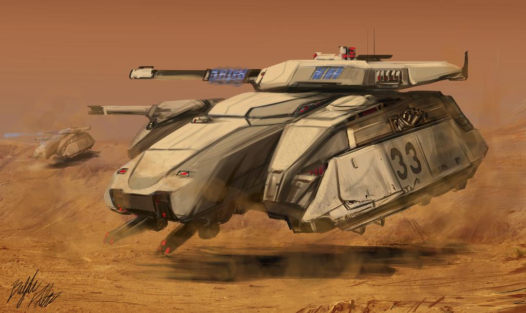 Centurion Tank by PeterPrime