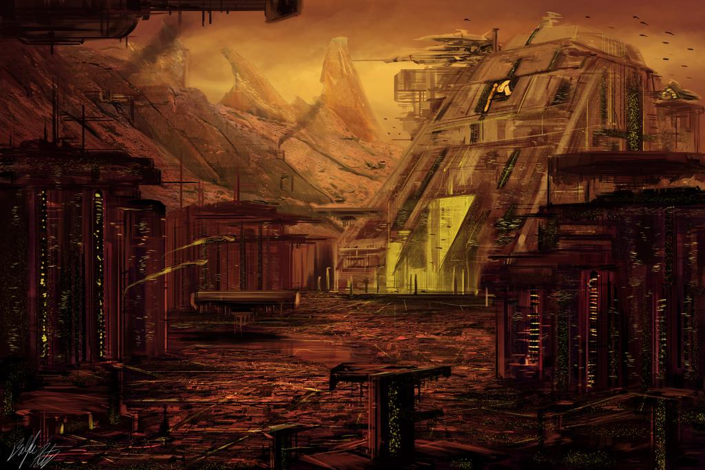 District 9 Alien Homeworld by PeterPrime