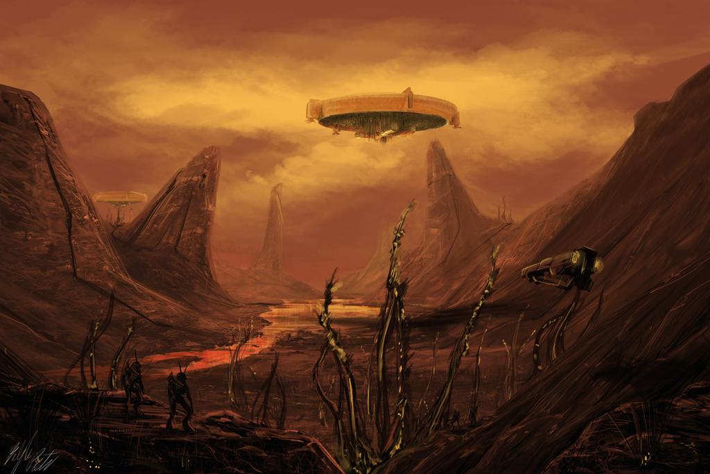 District 9 landscape by PeterPrime