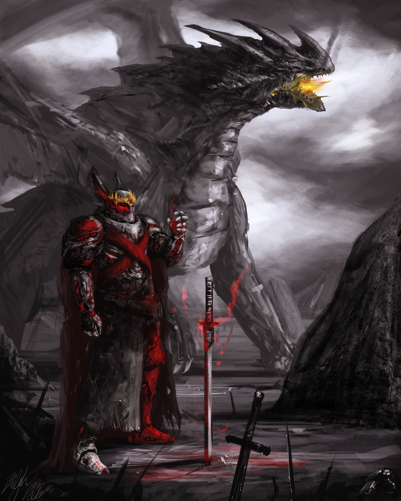 Dragon Overlord by PeterPrime