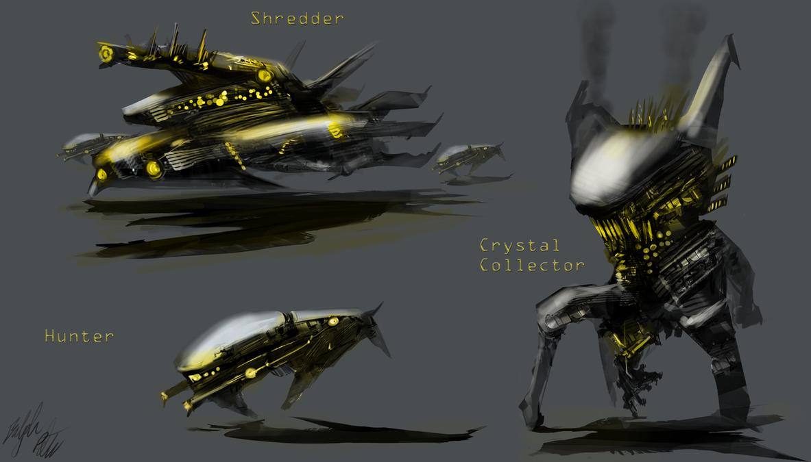 Alien Vehicles by PeterPrime on DeviantArt