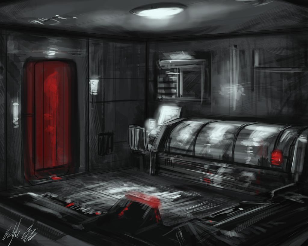 vendetta interior concept 1 by peterprime on deviantart. Black Bedroom Furniture Sets. Home Design Ideas