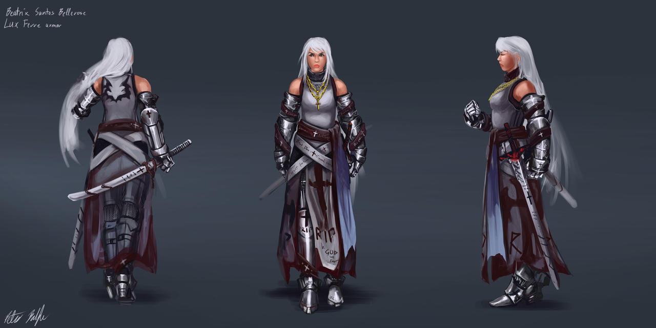 Beatrix Santos - Lux Ferre Concept by PeterPrime