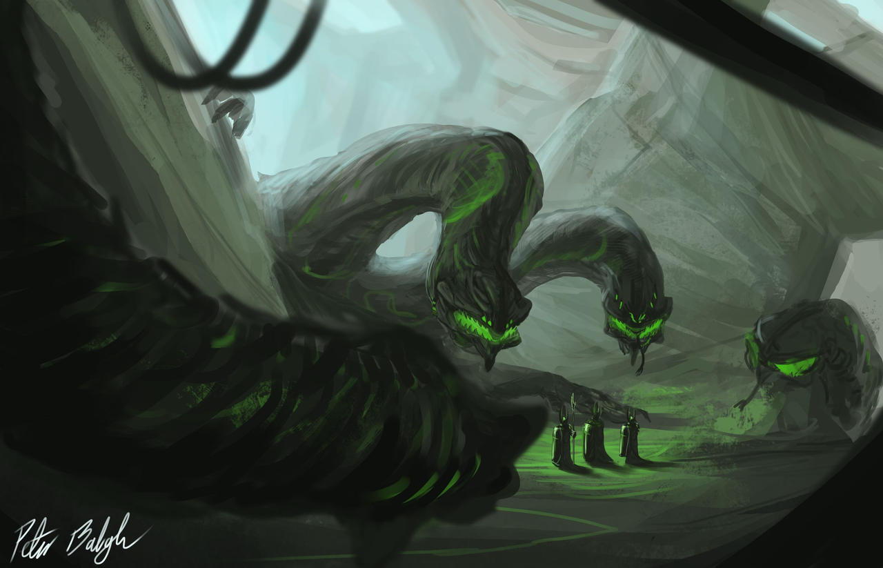 Elemental Beast by PeterPrime