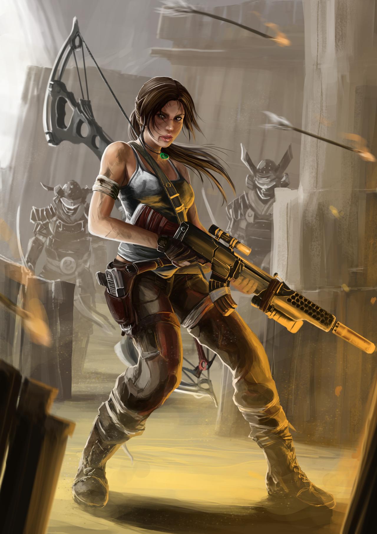 Lara Croft by PeterPrime
