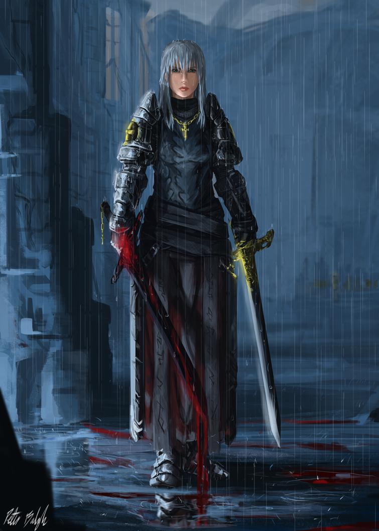 Holy Swordmaster by PeterPrime