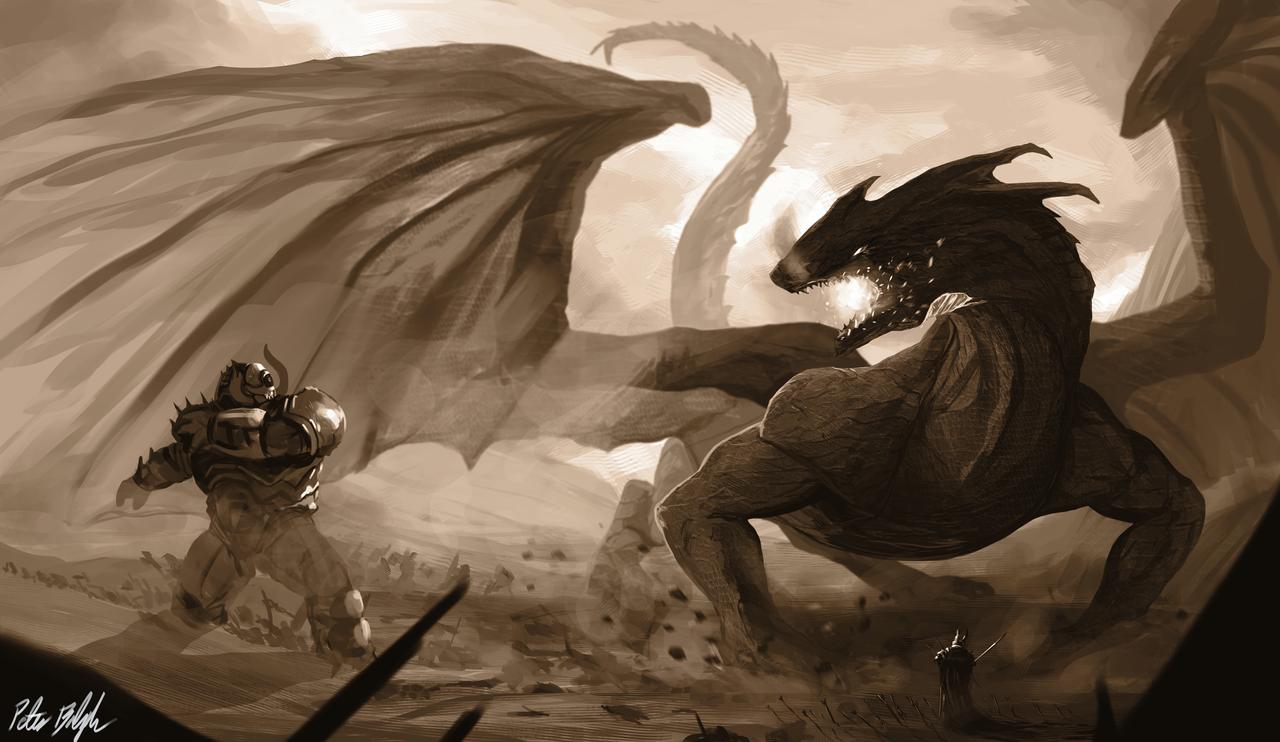 Black Dragon Tempest by PeterPrime