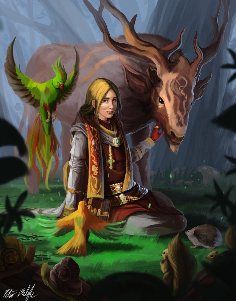 Original character thread/original concept art Divine_priestess_celestine_by_peterprime-d68kpil