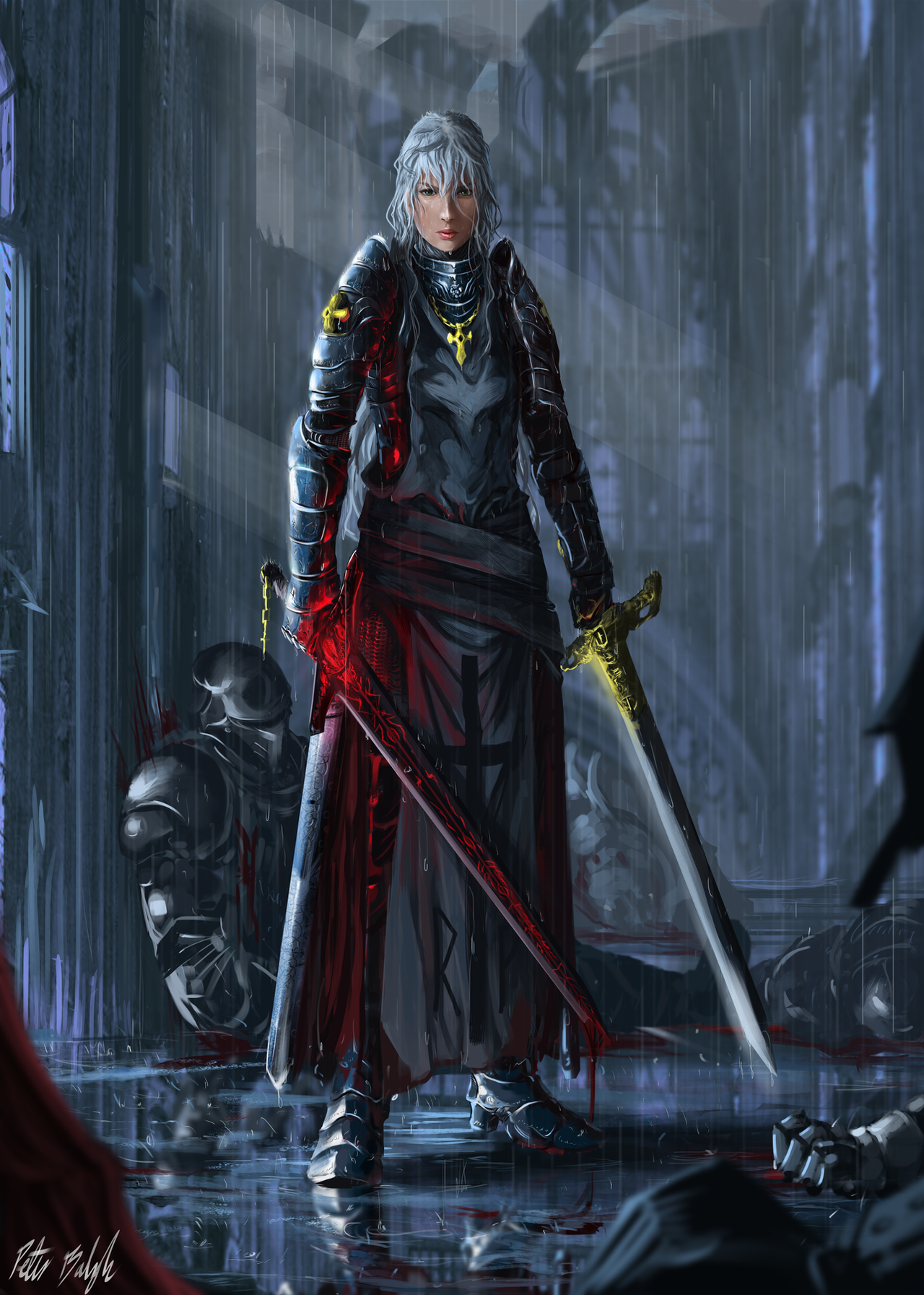 Holy Swordmaster by PeterPrime