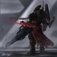 Heavy Gunner Erhard by PeterPrime