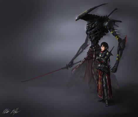 Assassin Shizuko and Shade Sadao