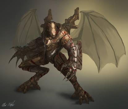 Battle Dragon Power Armor concept