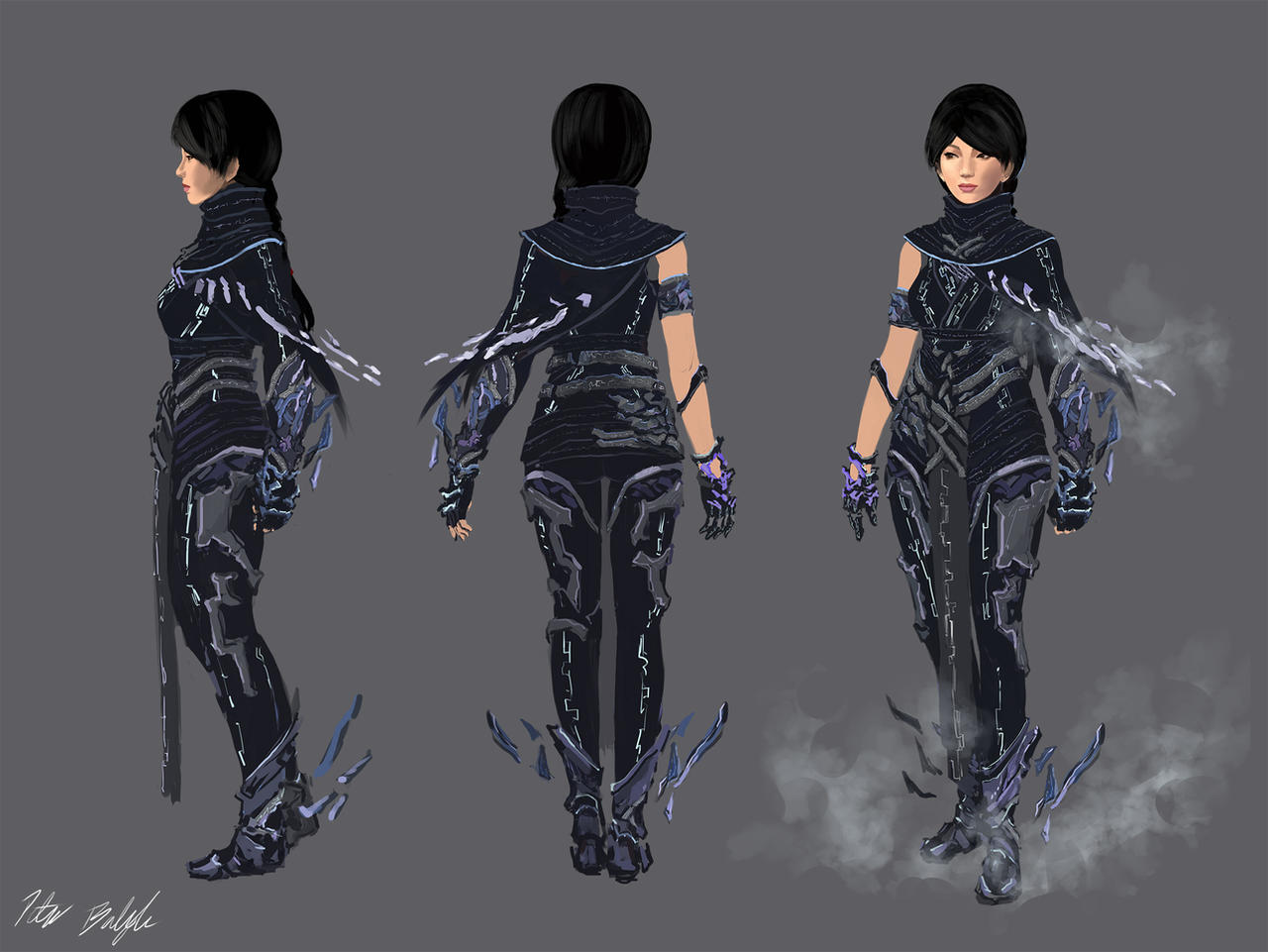 Fractal Armor Concept - Light version by PeterPrime