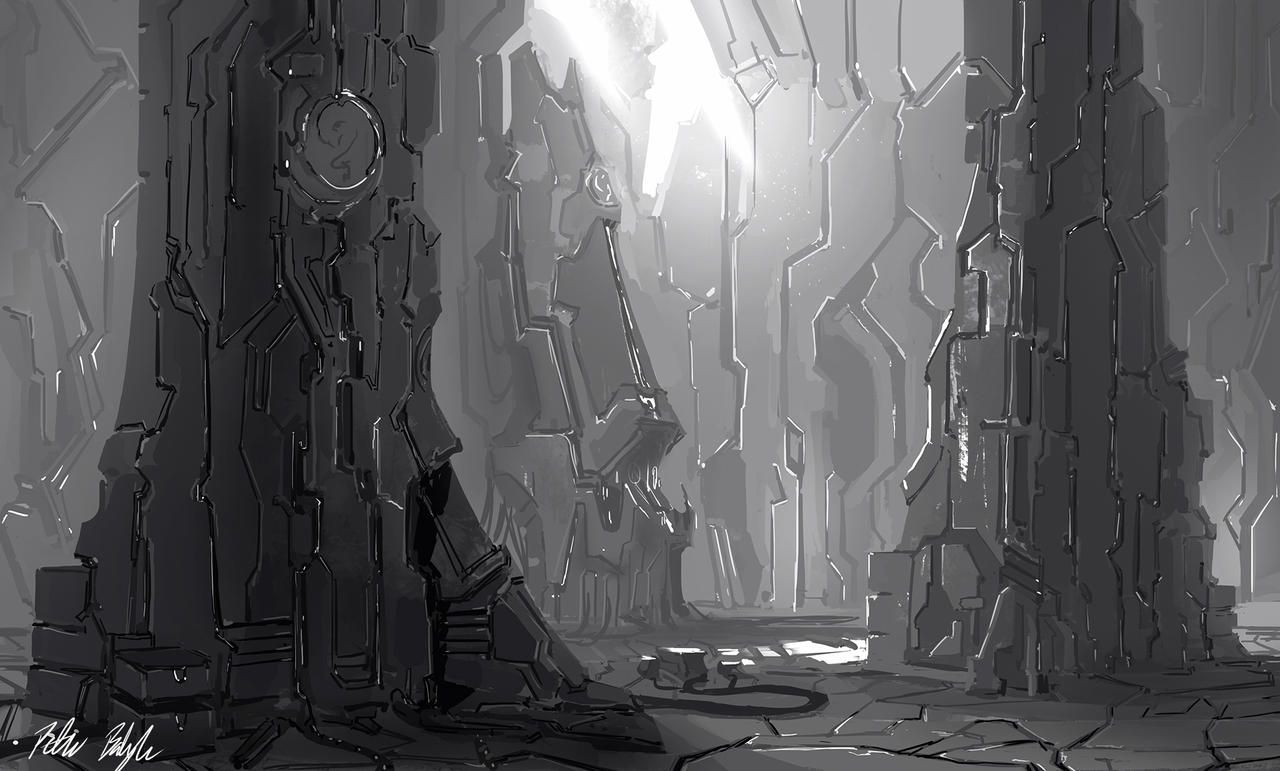 Environment concept by PeterPrime