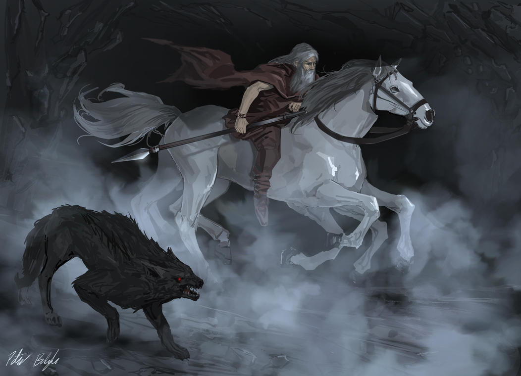 Image of Slepnir Horse of Odin