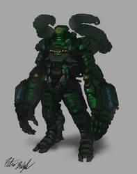 XH-3 Constructor armor
