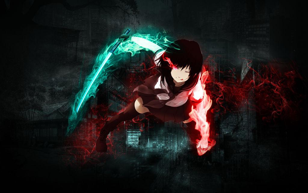 Anime Girl Assassin Wallpaper By Orkked