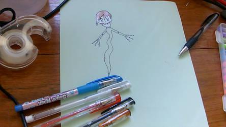Ghost-Skeleton Boy Hybrid - Flippo