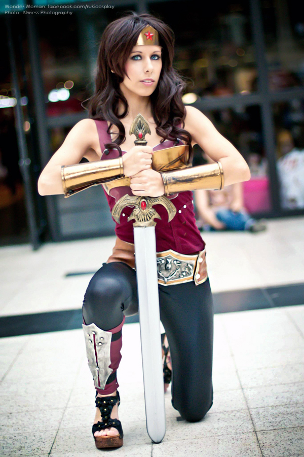 Wonder Woman JAPAN EXPO 2012 by Rukiii