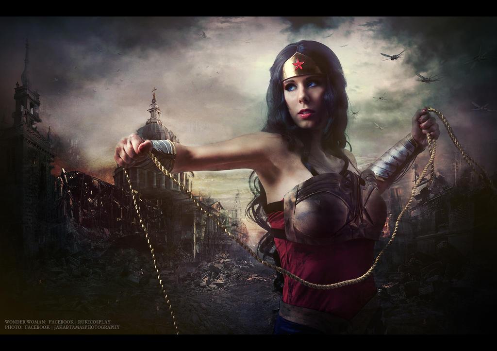 Injustice:Wonder Woman by Rukiii