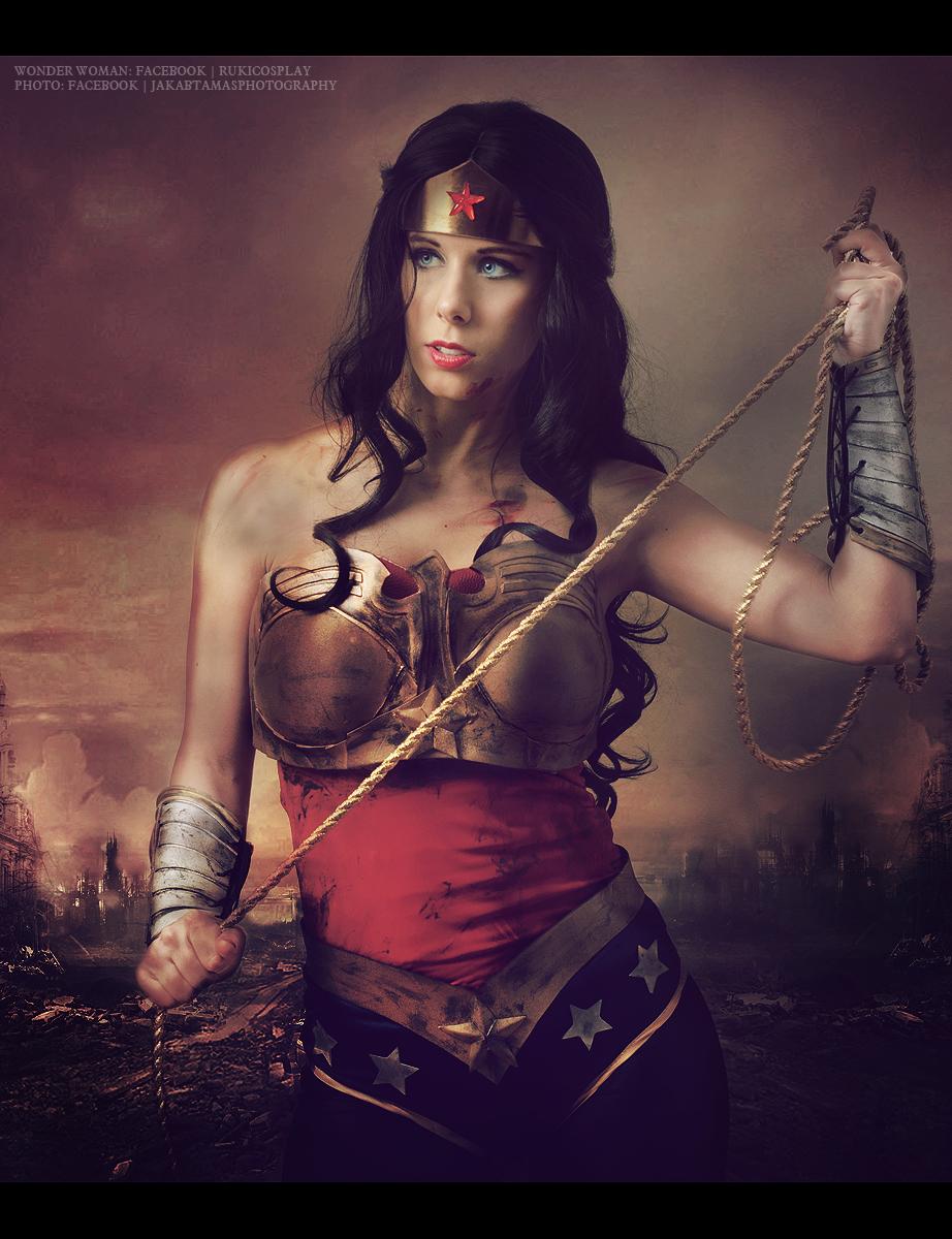 Injustice Wonder Woman cosplay by Rukiii on DeviantArt
