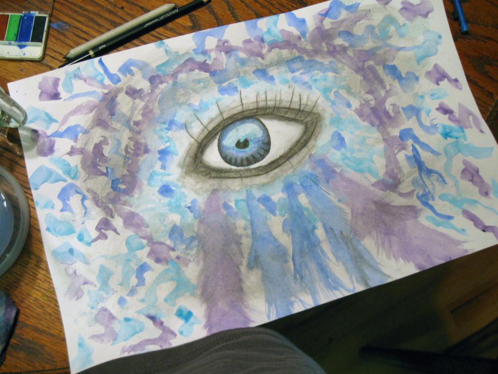 Eye Splash by NoneStar