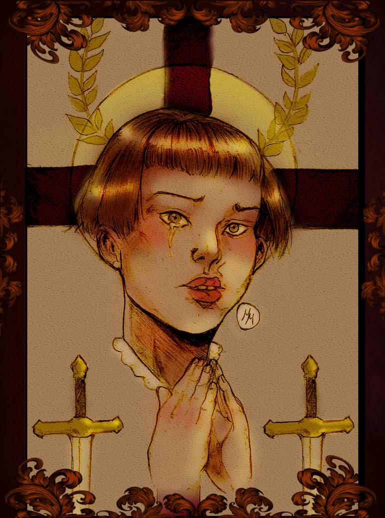 Jeanne D'Arc by marinamaltes