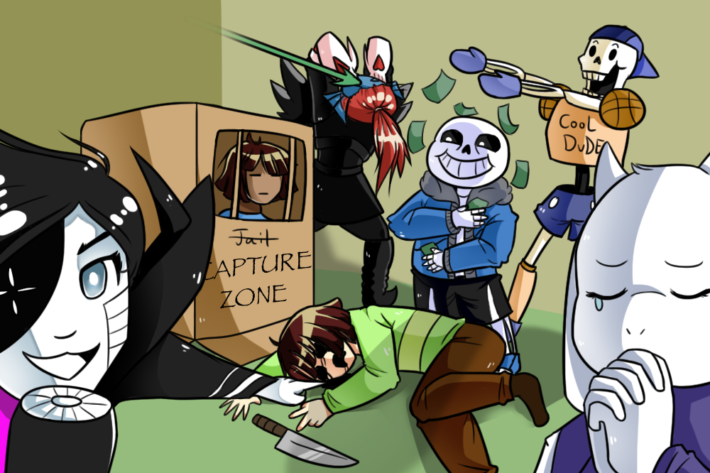 Draw The Squad Meme Undertale Pictures to Pin on Pinterest ...