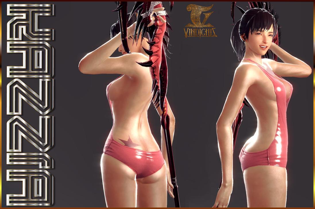 Kazzia Pink Bathing Suit - Vindictus MMO by Jace-Lethecus