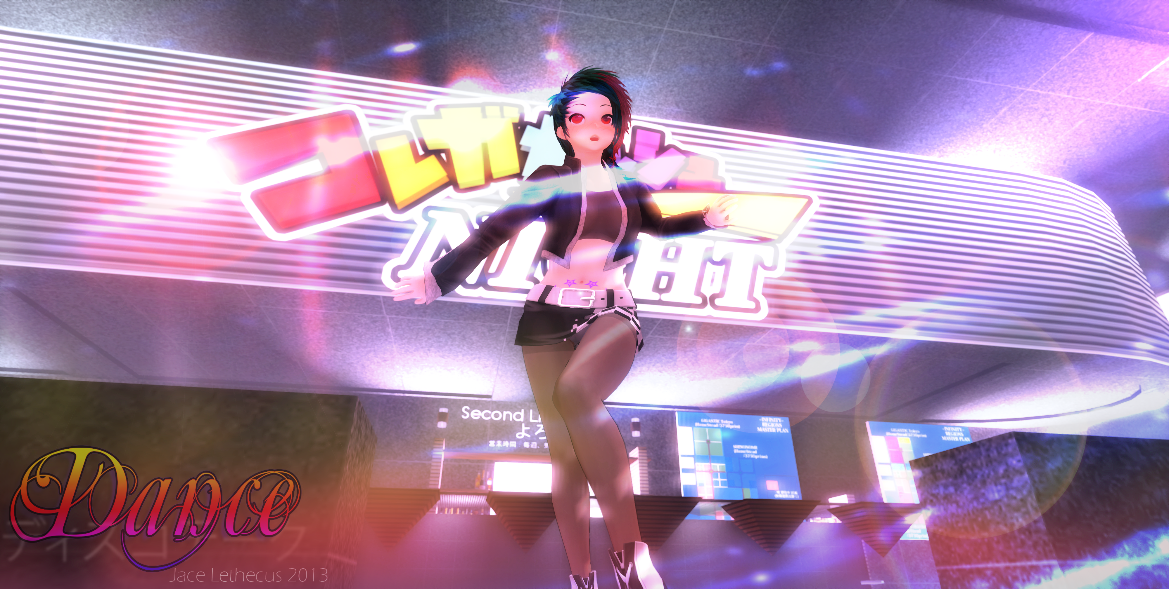 Anime - Dance Dance! - Second Life by Jace-Lethecus
