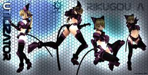 Rikugou A -Custom Chromium 01- Second Life