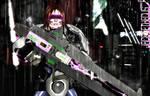 Gun Gurl -Heavy Rain- Second Life by Jace-Lethecus