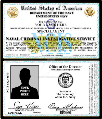 credentials Deviantart Badge On By Ncis Rustybauder