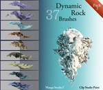Dynamic Rock Brushes - Pack 2