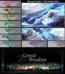 Crystal Brushes - Manga studio 5