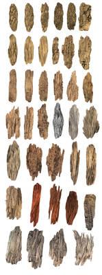 Wood Brushes sample