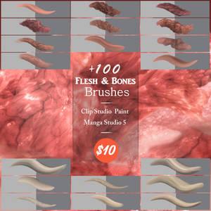Flesh and Bones Brushes