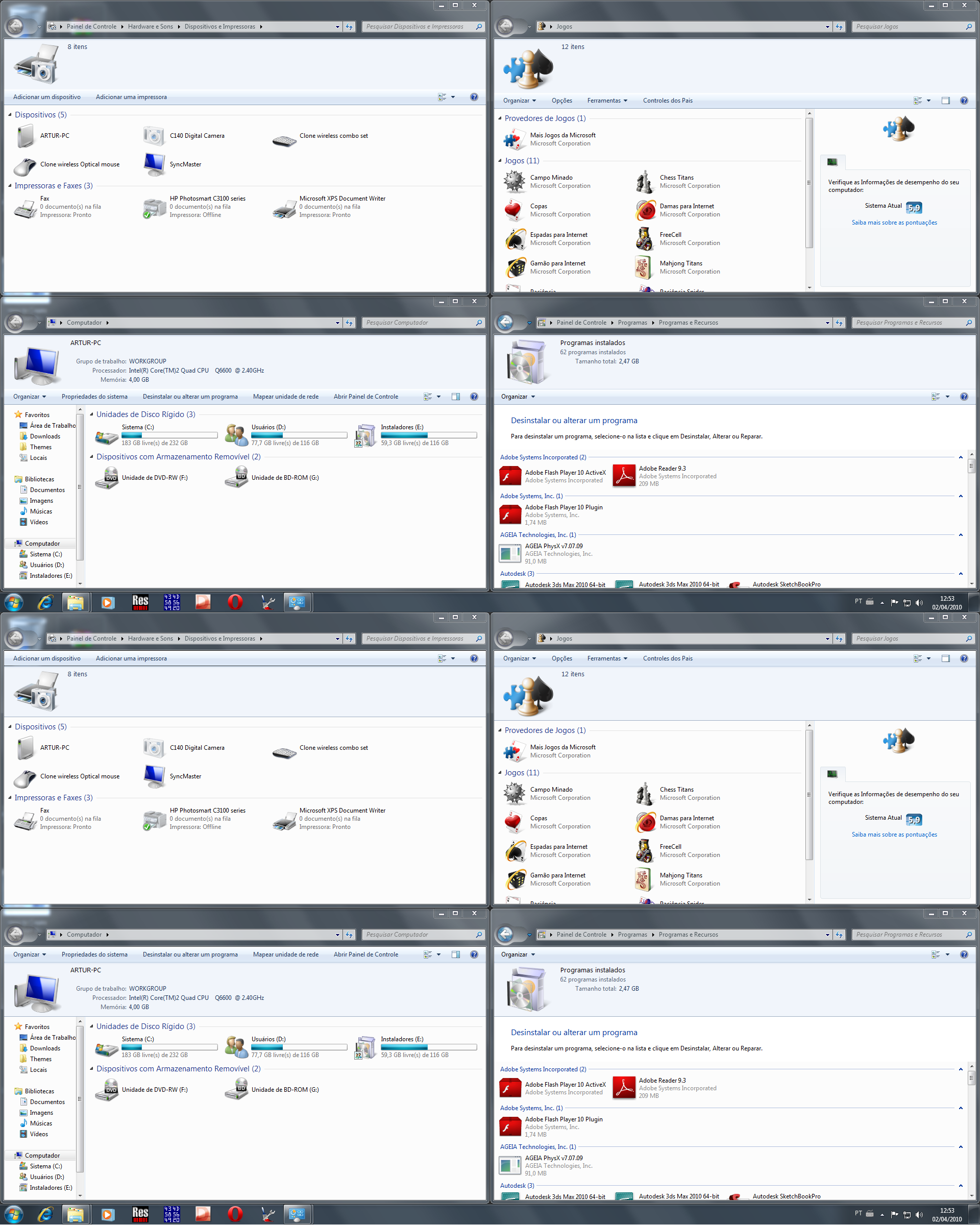 Windows 7 ShellStyle Layouts by Artur89SD