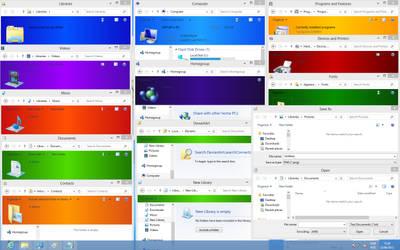 Windows 7 Layout on Windows 8 (Reboot) by Artur89SD