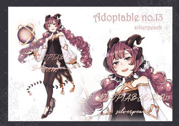 [OPEN] Adoptable Auction N0.13 by SilpeacH